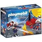 9468 - Pompiers avec matériel d'incendie Playmobil City Action