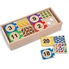 Puzzles en bois nombres 1 à 20