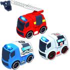 Coffret de 2 véhicules de secours sons et lumières