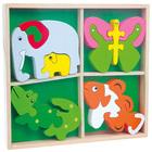 Mini puzzles en bois à assembler