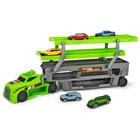Camion de transport avec véhicules