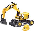 Porteur excavateur JCB avec casque