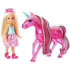 Barbie Dreamtopia - Poupée Chelsea et licorne