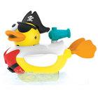 Le canard de bain pirate