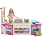 Barbie-Coffret cuisine à modeler