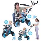 Tricycle évolutif City bleu
