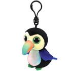 Beanie boo's porte clés - Beaks l'oiseau 8 cm