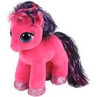 Beanie boo's - Petite Peluche Ruby le poney rose 15cm