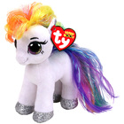 Beanie boo's - Petite Peluche Starr le poney blanc 15cm