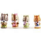 Klorofil Lot de 4 figurines - Famille Nutnut