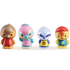 Klorofil Lot de 4 figurines - Famille Twitwit