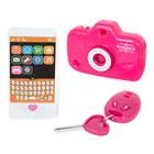 Téléphone clés et appareil photo