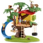 Cabane aventure dans les arbres
