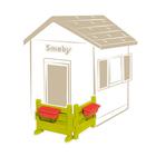 Accessoire maison néo jura lodge - espace jardin - 2 barrières + 2 jardinière