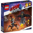 70836-LEGO® Movie 2 Batman en armure de combat et Barbe d'Acier