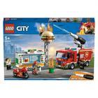 60214-LEGO® City L'intervention des pompiers au restaurant de hamburgers