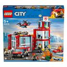 60215-LEGO® City La caserne de pompiers