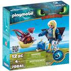 70041 - Playmobil Dragons 3 - Astrid avec Globegobeur