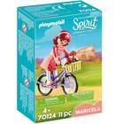 70124 - Playmobil Spirit - Maricela et bicyclette