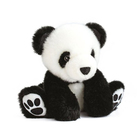 Peluche So Chic Panda noir 17 cm