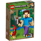 21148-LEGO® Bigfigurine Minecraft Steve et son perroquet