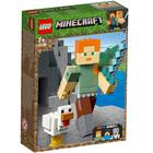 21149 - LEGO® Bigfigurine Minecraft Alex et son poulet