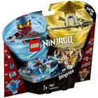 70663 - LEGO® NINJAGO Toupies Spinjitzu Nya et Wu