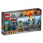 75931 - LEGO® Jurassic World L'attaque de l'avant-poste par le Dilophosaurus