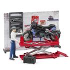 Coffret mécanicien avec moto et accessoires