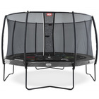 Trampoline Champion Regular 380 gris avec filet