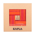Coffret Kapla couleur rouge/orange avec livre