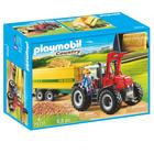 70131 - Playmobil Country - Grand tracteur avec remorque
