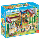 70132 - Playmobil Country - Grande ferme avec silo et animaux