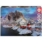 Puzzle de 1500 pièces îles Lofoten Norvège