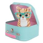 Peluche chat Rayben Studio Pets avec valise