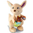 Peluche interactive Maman Kangou-Love et son bébé