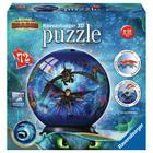 Dragons 3 - Puzzle 3D rond 72 pièces