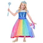 Déguisement Barbie Rainbow 8/10 ans