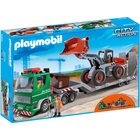 5026 - Playmobil City Action - Camion à plateau et chargeuse