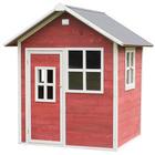 Maison en bois Loft 100 rouge