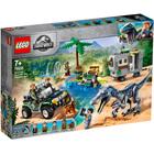 75935-LEGO® Jurassic World L'affrontement du baryonyx la chasse au trésor