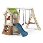 Portique avec balançoires et toboggan Play Up Gym Set