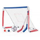 Cage de foot Multi-sports 2-en-1