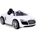 Voiture électrique Audi R8 6V blanche EZ