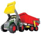 Tracteur Happy ferme avec remorque