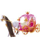 Poupée Lolly et son carrosse