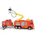 Sam le pompier-Camion Jupiter remorque et figurines
