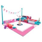 Omgems-Coffret Magique sol et saut avec poupée gymnaste et accessoires
