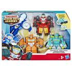 Figurines Transformers Rescue Bots Academy - Pack de 4
