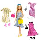 Barbie et ses 4 tenues